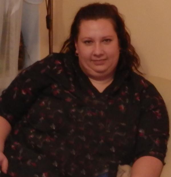 Pani Katarzyna przed obniżeniem masy ciała naturalnie dla zdrowia